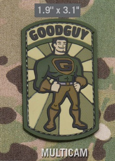Нашивка MSM Goodguy multicam