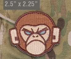 Нашивка MSM Monkey multicam
