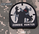 Нашивка MSM zombie hunter PVC SWAT