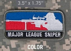Нашивка MSM Major League Sniper color