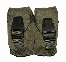Подсумок Nemus Tactical для двух ручных гранат, olive