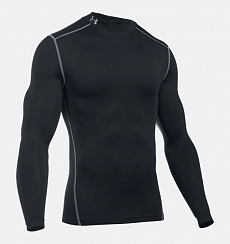 Футболка Under Armour  ColdGear® Armor Compression Mock, black