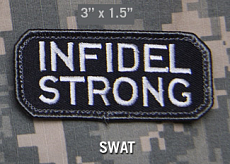 Нашивка MSM infidel strong swat