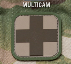 Нашивка MSM medical 1'' PVC multicam