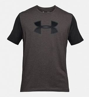 Футболка Under Armour  UA Big Logo, Charcoal/ Black