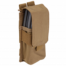Подсумок 5.11 Stacked Single Mag Pouch w/ cover coyote