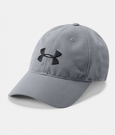 Бейсболка UA Core Canvas Dad Cap,  Stealth Gray