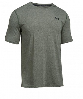 Футболка Under Armour Threadborne Siro, Carbon Heather / Черный